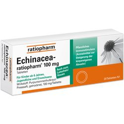 ECHINACEA-RATIOPHARM 100 mg Tabletten
